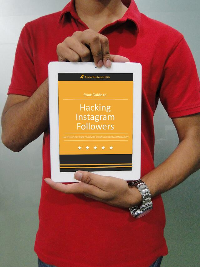 Free eBook on how to growth hack instagram followers