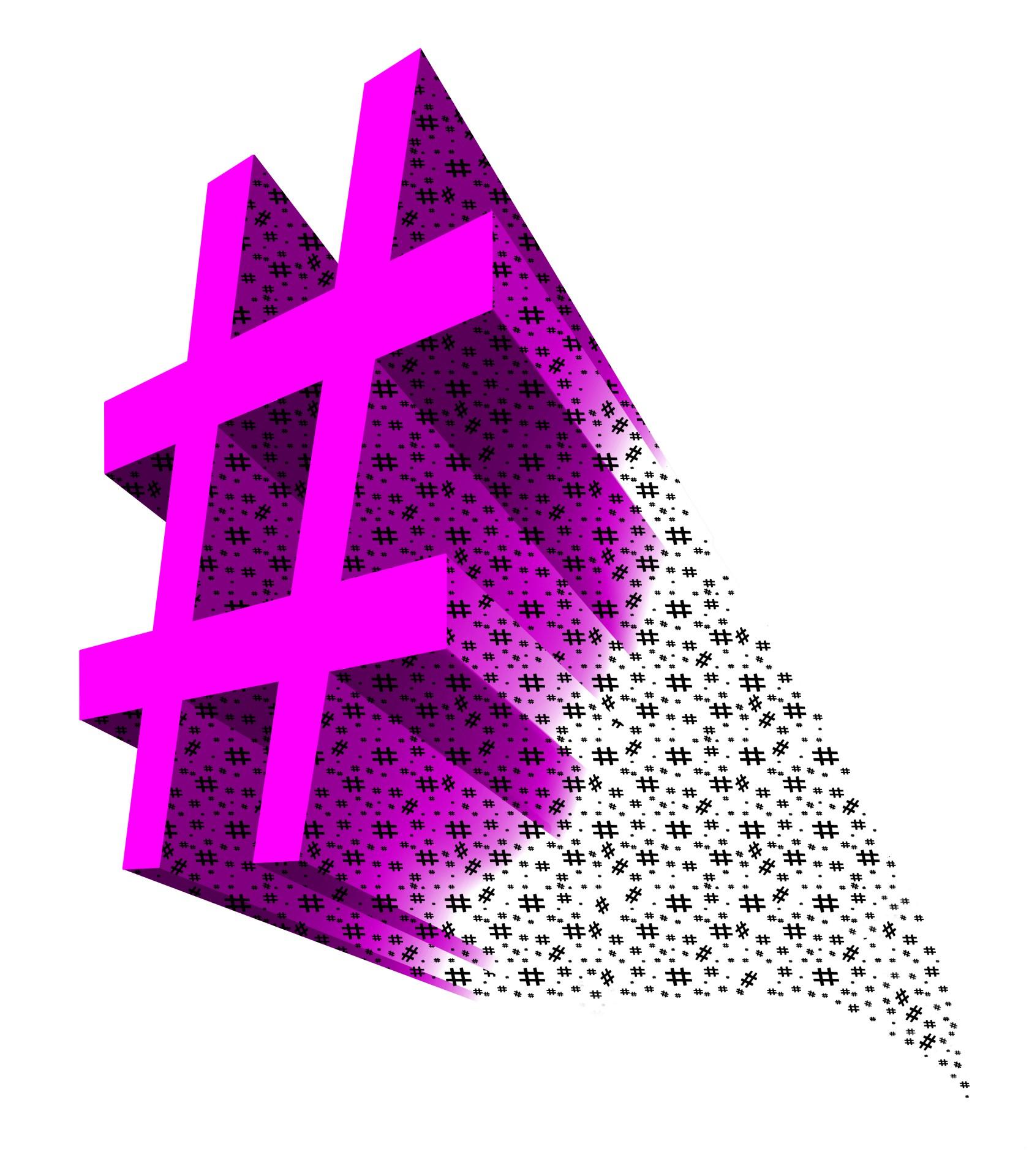 Hashtag generating hashtags