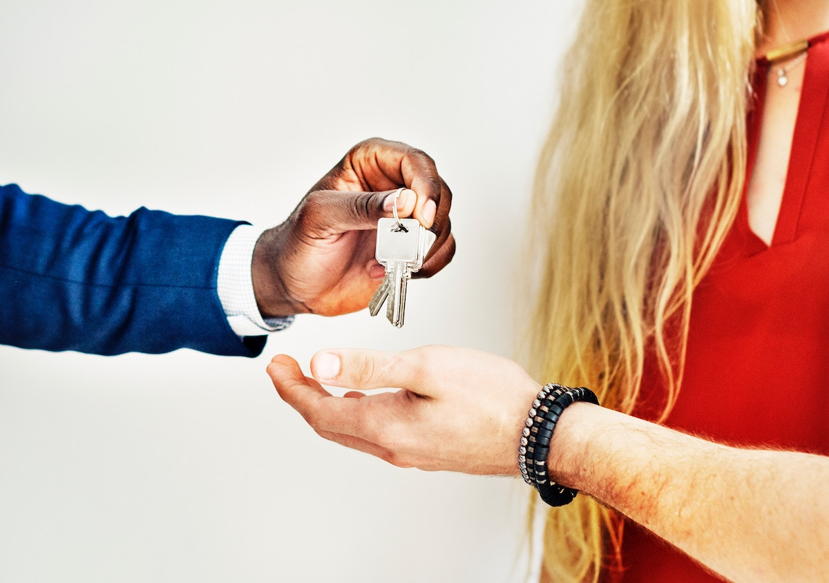 Getting the keys after finding it from real estate hashtags