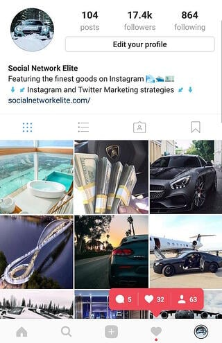Give our Instagram followers free trial a spin and get results like these!